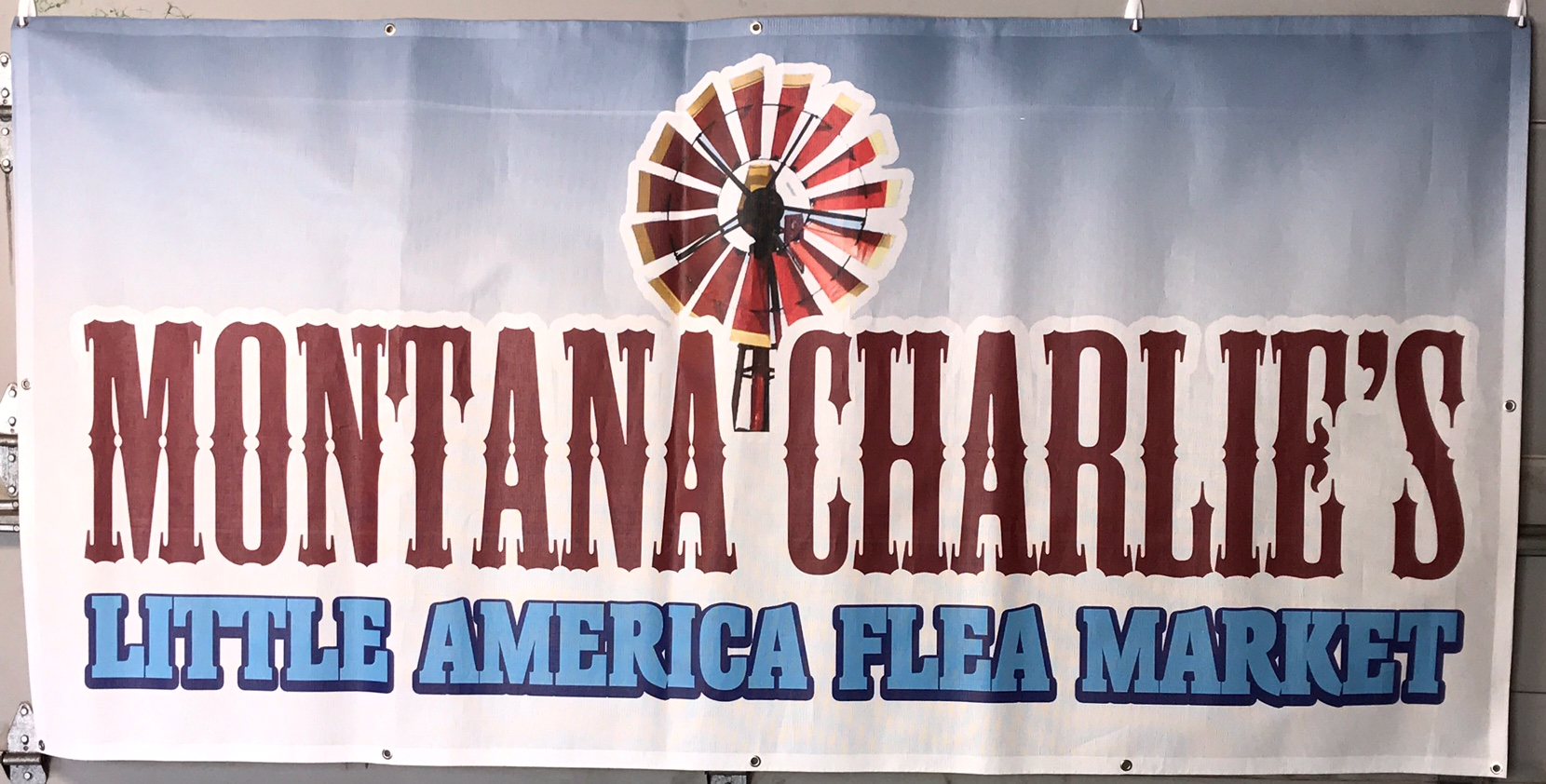 Montana Charlies 4x8 Banner